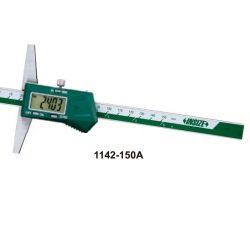 Głębokościomierz elektroniczny Insize seria 1142 z hakiem