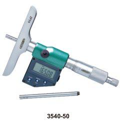 Głębokościomierz mikrometryczny elektroniczny Insize 3540