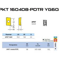 PŁYTKA APKT 160408 YG 602