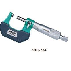 Mikrometr Insize noniuszowy podziałka 0,01mm seria 3202
