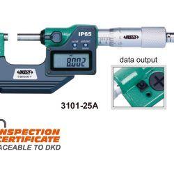 Mikrometr elektroniczny Insize seria 3101 IP65